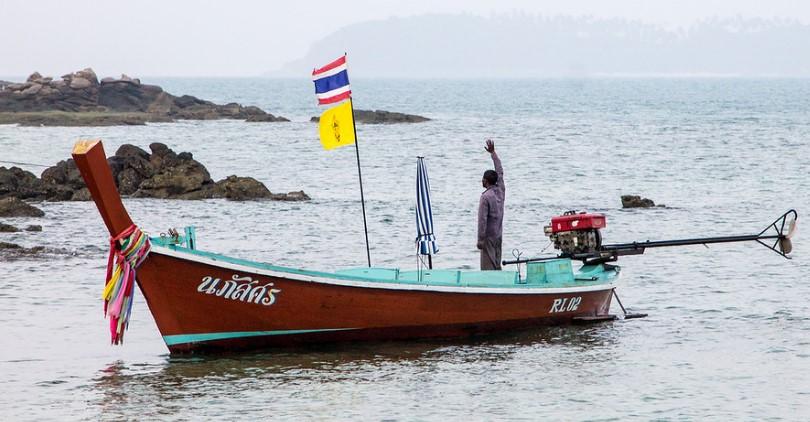Остров Бон (Пхукет) - лодка
