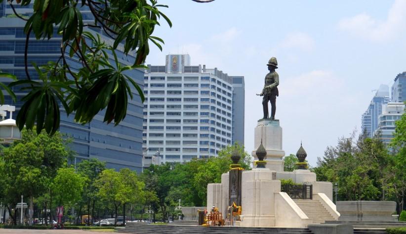 Памятник королю Сиама Монгкуту, Раме IV