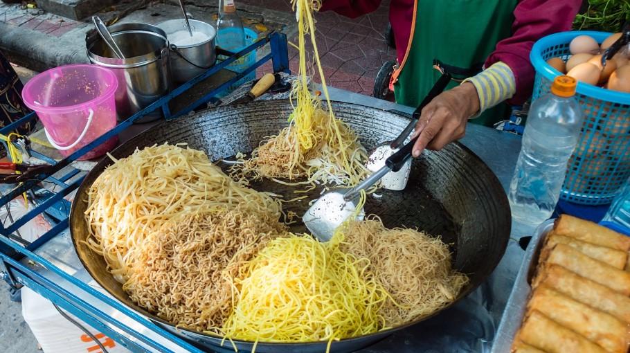 кухня Таиланда - уличная еда