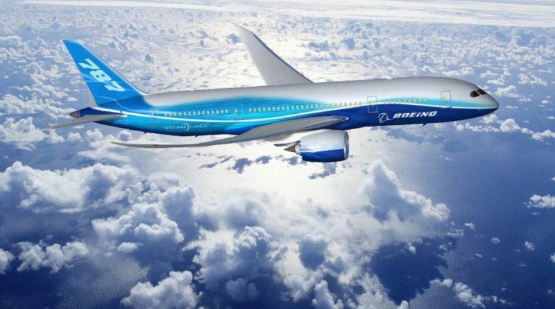 Боинг 787 - схема салона
