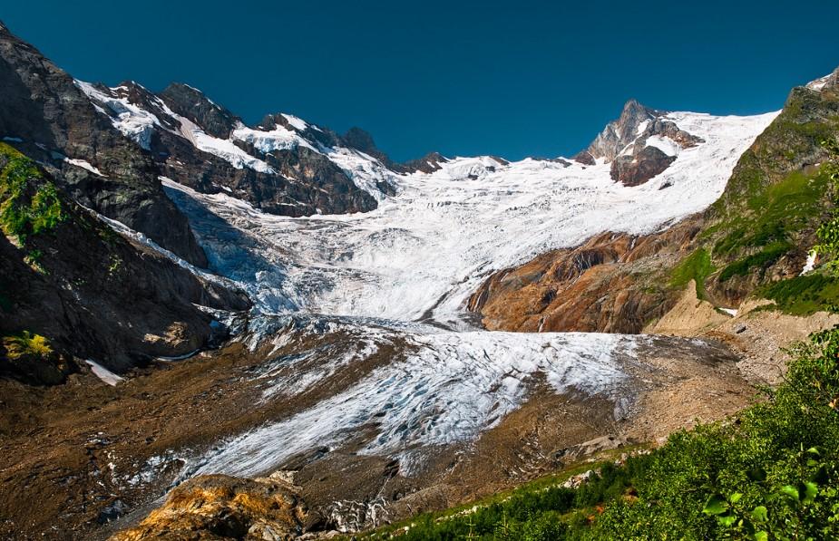 Ледник Алибек - Домбай