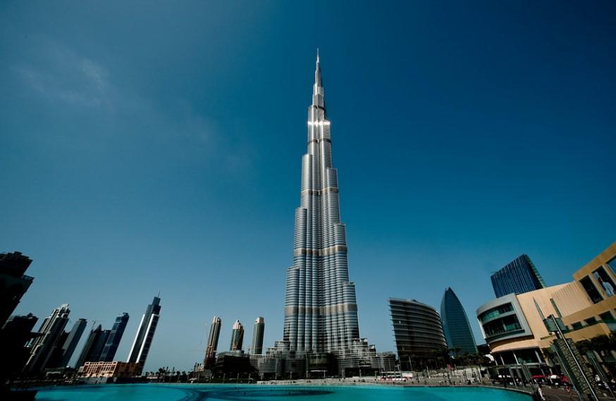небоскреб Бурдж Дубай