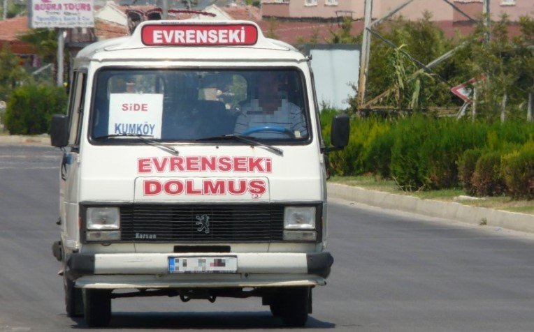 Кемер - долмуш