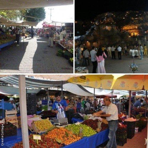 Рынок в Каздере