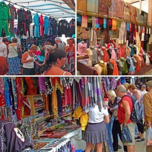 Текстильный рынок Кемера
