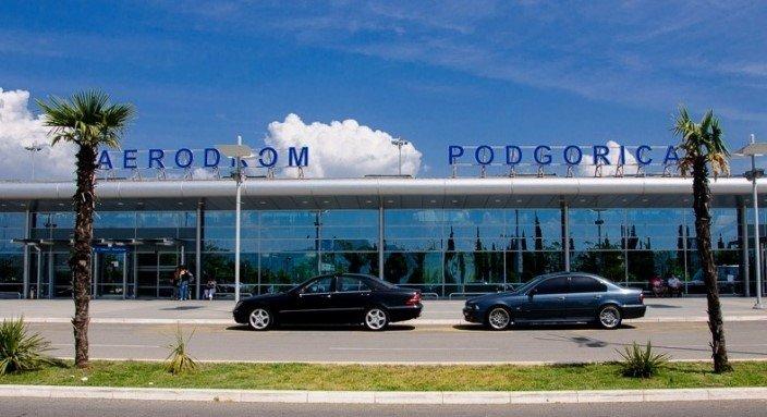 Международные аэропорты Черногории