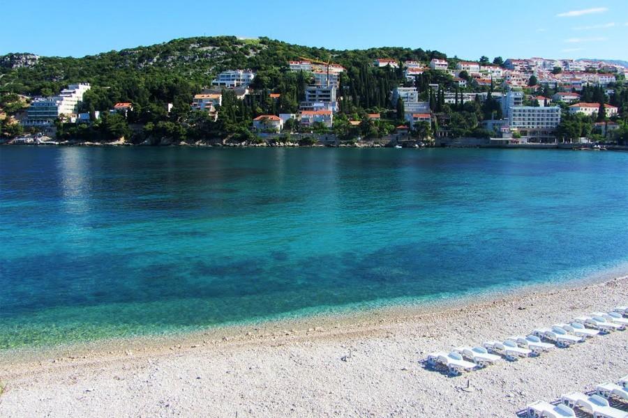 Пляж Лапад, Хорватия