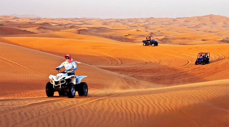 Сафари в пустыне (ОАЭ)