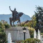 памятник Аладдину Кейкубату (Аланья)