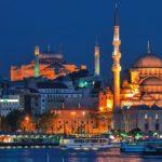 Ночная Турция