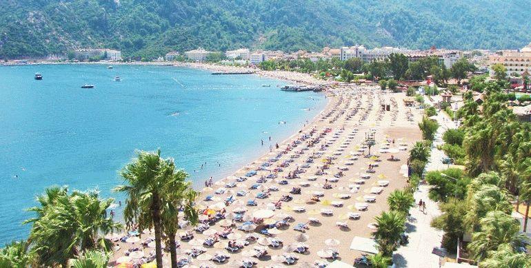 Отели с песчаными пляжами в Турции фото