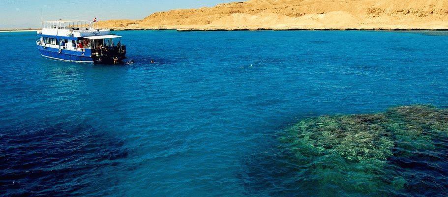 Какое море в Египте фото