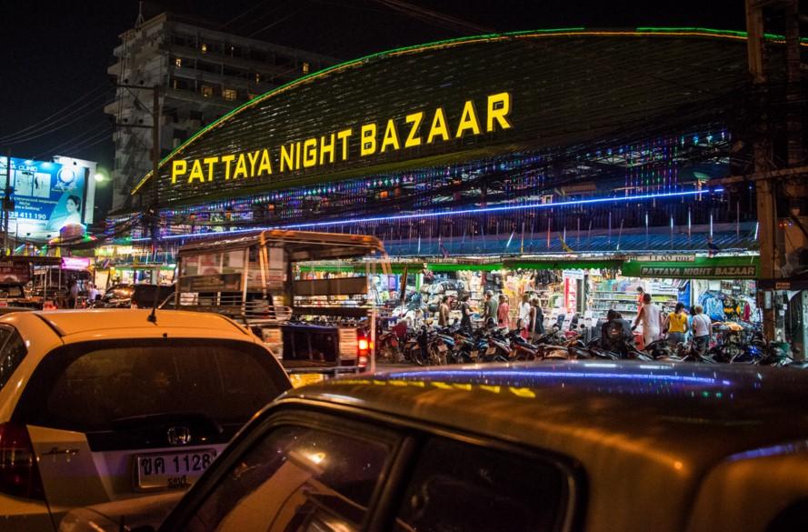 Ночные рынки Паттайи фото