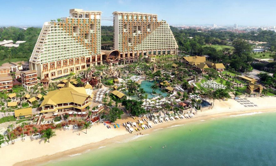 Лучшие отели Паттайи с собственным пляжем фото