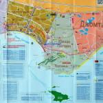 Карта пляжа Вонгамат