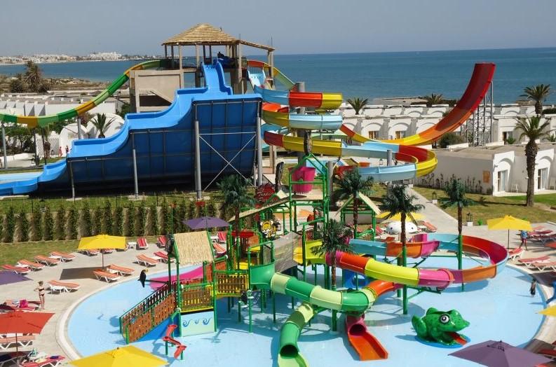 Отели Туниса с аквапарком фото