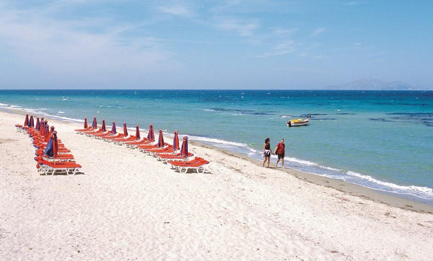 Пляжи Греции с белым песком фото