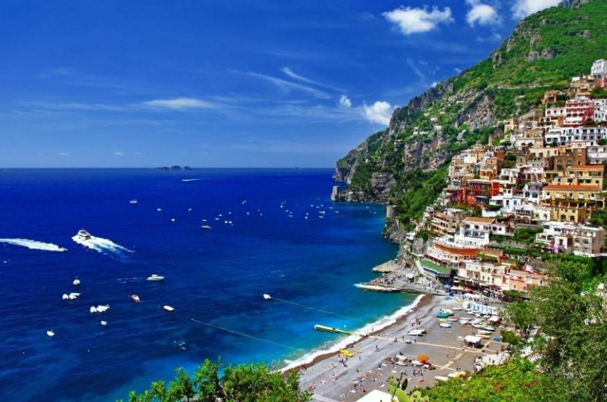 Какое море в Италии фото