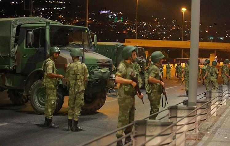 Военный переворот в Турции фото