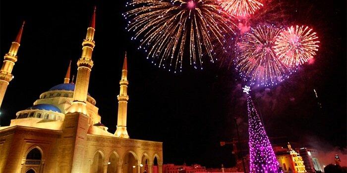 Новый год в Турции фото