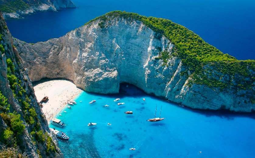 Погода в октябре в Греции фото