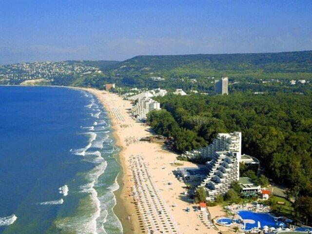 Где в болгарии самое теплое море золотая виза испании 9 букв