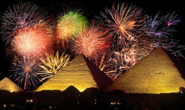 Новый год в Египте фото