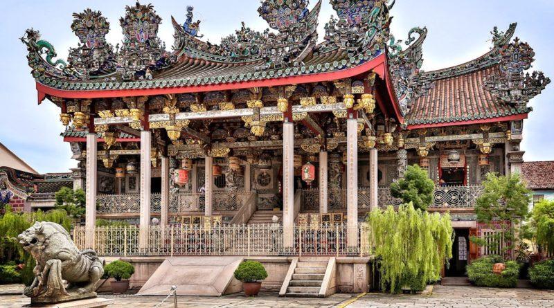 Дом-храм Khoo Kongsi (малайзия)