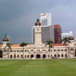 Площадь Независимости в Куала-Лумпуре (Малайзия)