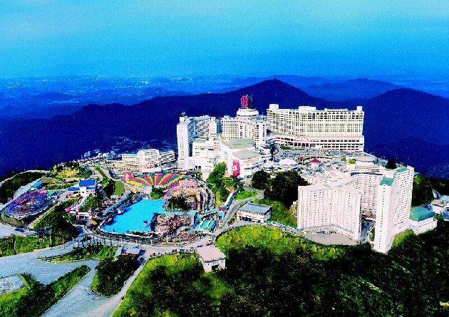Гентинг хайленд – город развлечений (Малайзия)